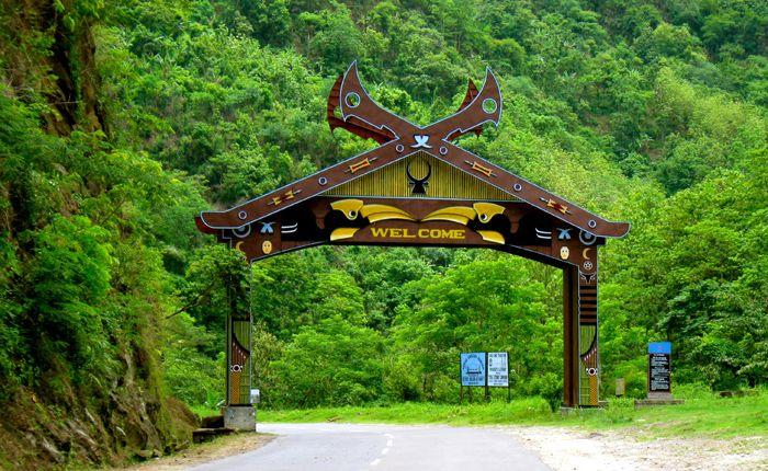khonoma, Nagaland, Green