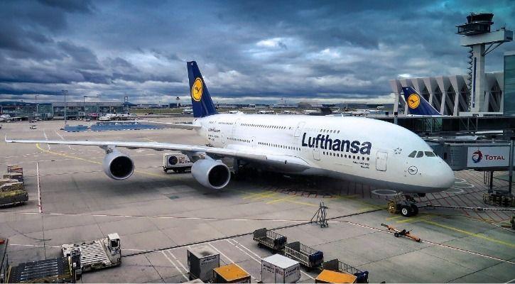 Lufthansa air pollution