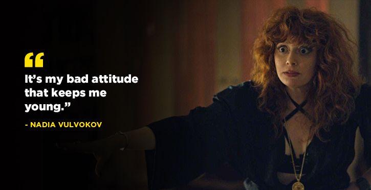 must watch tv series: Russian Doll.