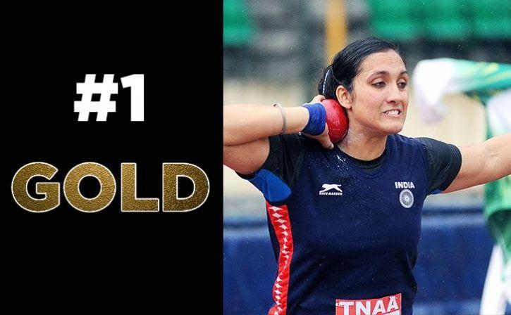 Navjeet Kaur Win Gold