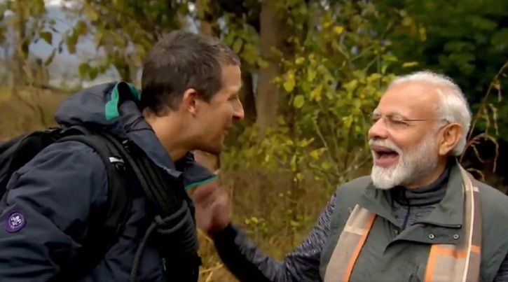 'Not In My Culture To Kill', Says PM Modi In New 'Man VS Wild' Clip, Becomes Target Of Trolls!