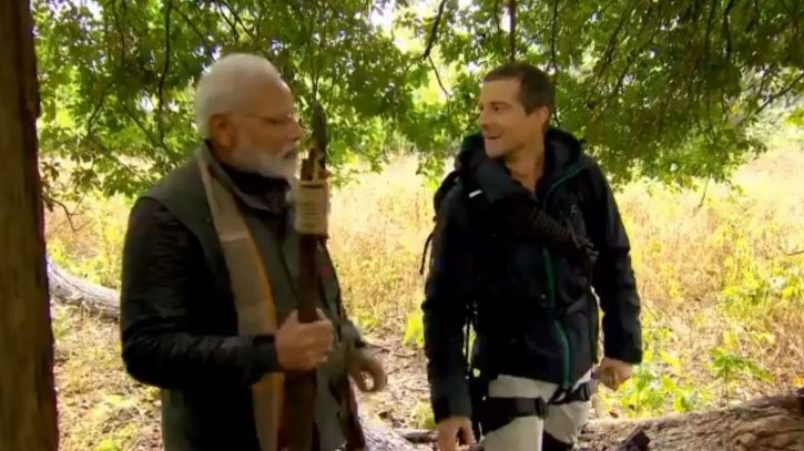 'Not In My Culture To Kill', Says PM Modi In New 'Man VS Wild' Clip, Becomes Target Of Trolls