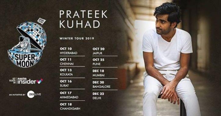 Prateek Kuhad India Tour