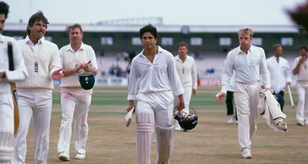 Sachin Tendulkar made 119 not out
