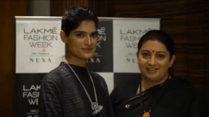 Smriti Irani shares the struggling story of Rajasthani model Nisha Yadav.