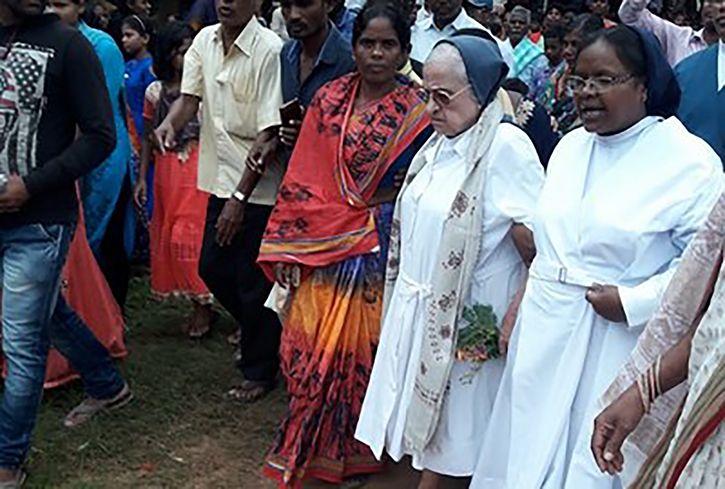 Spanish Nun Leaves Odisha Village After 50 Years