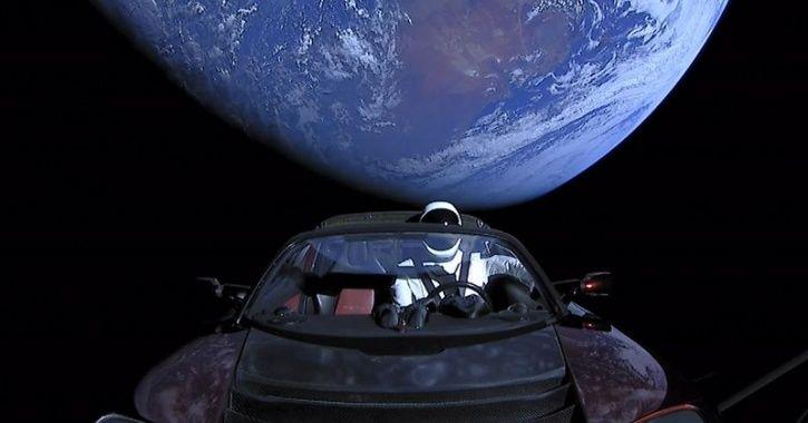 Tesla Roadster Solar Orbit, Tesla Spaceman Orbit, Spaceman Solar Orbit, Tesla Roadster In Space, Spa