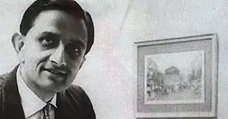 vikram sarabhai, vikram sarabhai isro, isro, father of indian space program, cv raman, satyendra bha