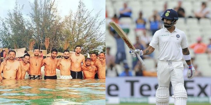 Virat Kohli knows how to have a good time
