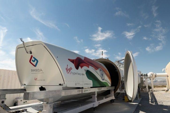 Virgin Hyperloop One, Hyperloop India, Hyperloop Mumbai Route, Mumbai Pune Hyperloop, Hyperloop Indi