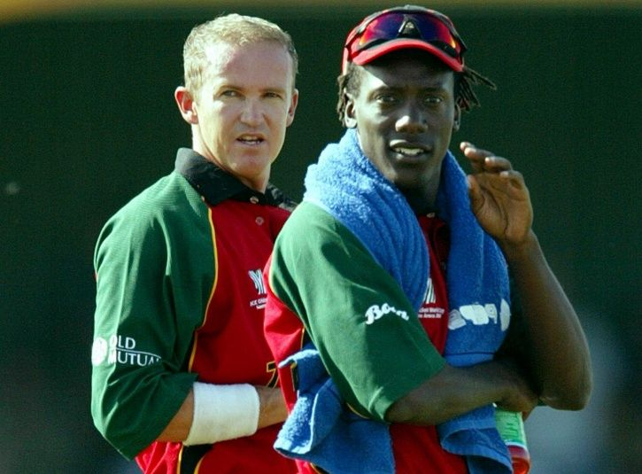 Andy Flower and Henry Olonga made a brave move