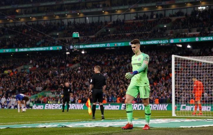 chelsea goalkeeper kepa arrizabalaga fined