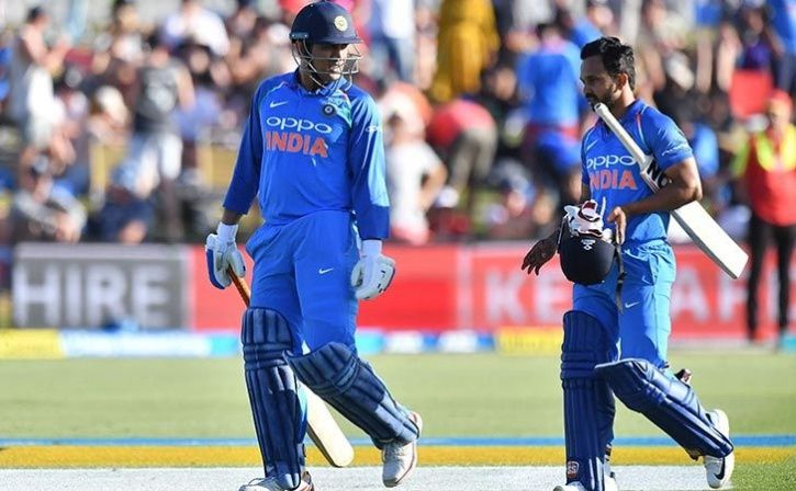 Dhoni Boost For India Seeking An Improved Batting Show Against New Zealand