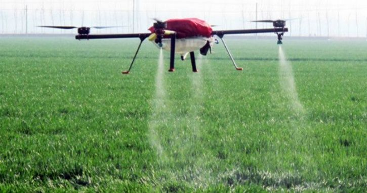 drone can fly for 25 minutes on full charge and the entire apparatus costs approximately Rs. 10,000
