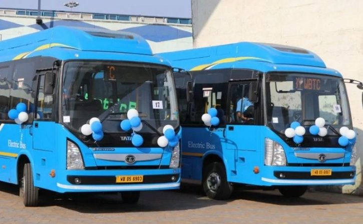 Electric Buses India, Electric Buses West Bengal Transport Corporation, Electric Buses Tata Motors,