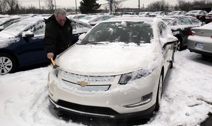 Electric Cars Limited Range, Electric Cars Reduced Range, Electric Cars Range Problem, Polar Vortex