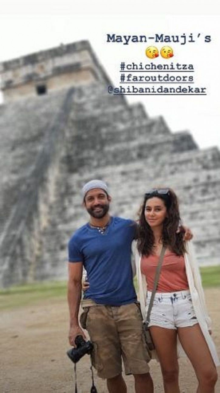 Farhan and Shibani