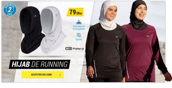 French Sports Store Pulls Hijab for Women Joggers Over Furor