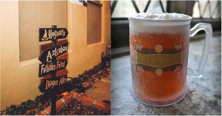 hogwarts, harry potter, butterbeer, beer festival, USA, Oregon,  Slytherin Sisters, DJ, Beer