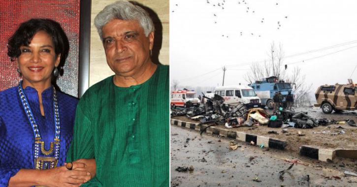 Javed Akhtar And Shabana Azmi Cancel Karachi Arts Council Event After Pulwama Terror Attack