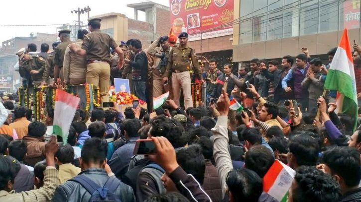 Martyred Ajit Kumar Azad