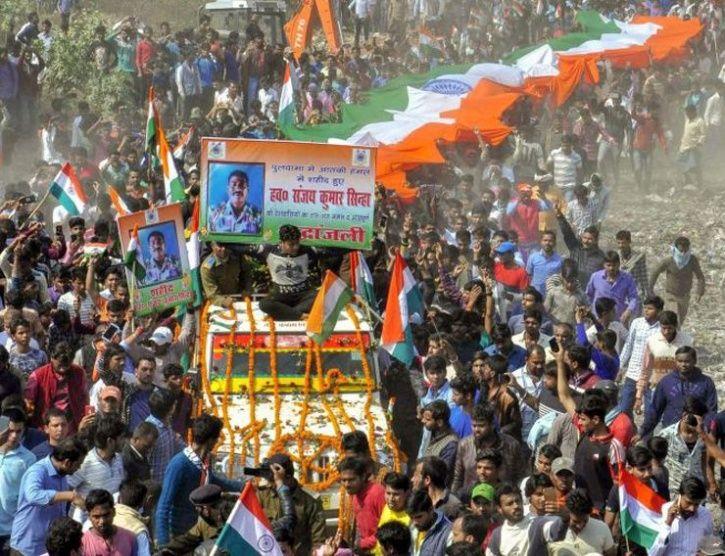 martyred Sanjay Kumar Singh