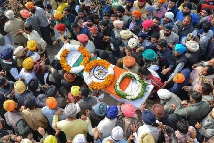 Martyred Sukhjinder Singh Punjab
