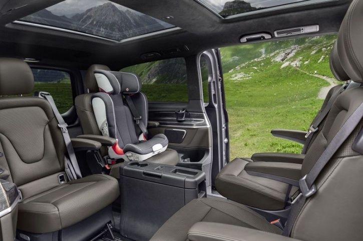 Mercedes-Benz Electric Minivan, Mercedes-Benz Concept, Mercedes-Benz Electric Vehicle, Electric Van,