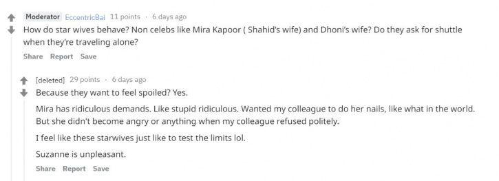 Mira Rajput: This Reddit User Exposes Aeroplane Secrets Of Bollywood Stars