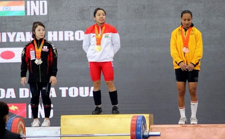 Mirabai Chanu Wins Gold