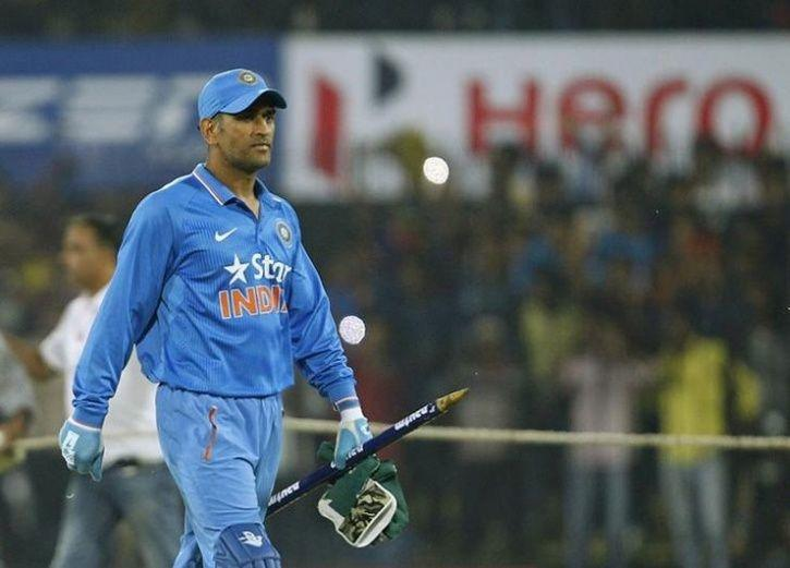MS Dhoni is very quick with the gloves
