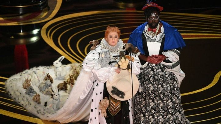 Oscars 2019: Melissa McCarthy and Brian Tyree Henry wore rabbit dresses