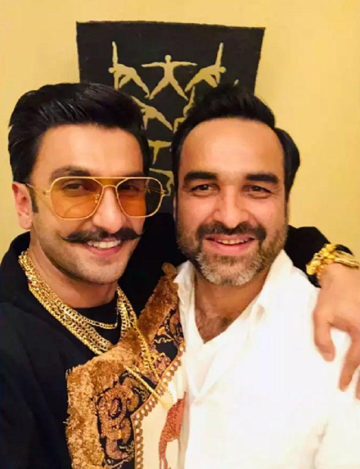 Pankaj Tripathi with Ranveer Singh.