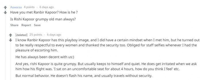 Ranbir Kapoor: This Reddit User Exposes Aeroplane Secrets Of Bollywood Stars