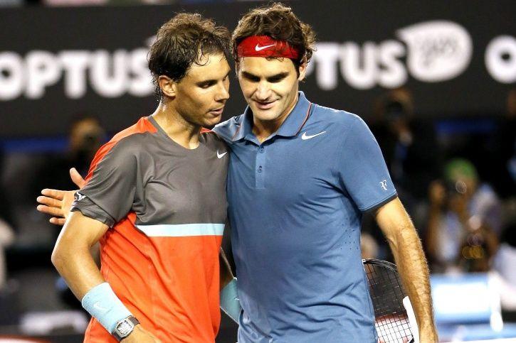 Roger Federer and Rafael Nadal are legends
