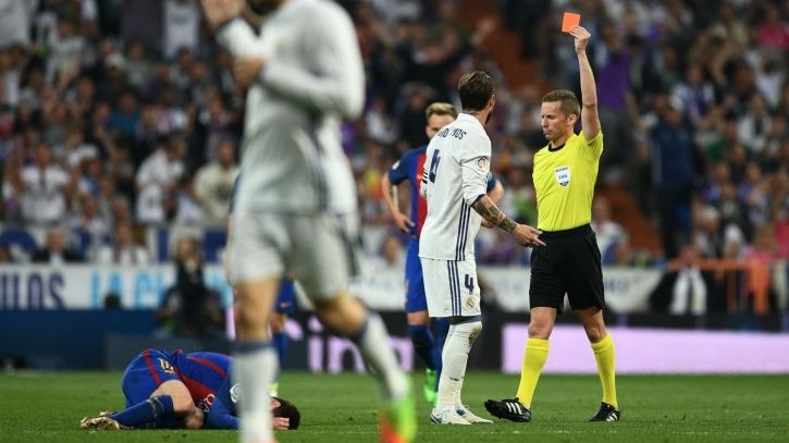 Sergio Ramos gets booked a lot