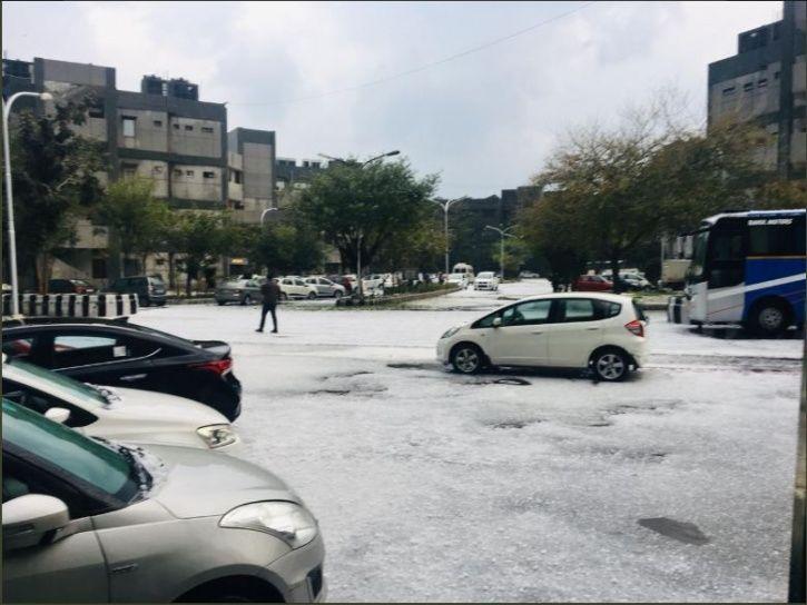 snowfall, police post, Jammu and Kashmir, Jawahar tunnel, srinagar, Ramban district