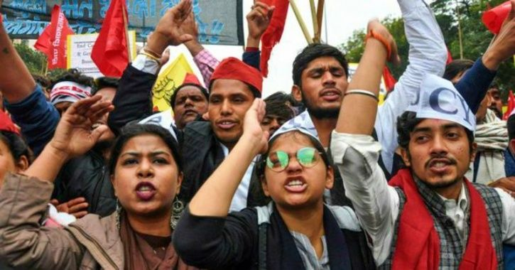 Students From Across India March To Parliament To Remind Govt Of Sorry State Of Employment