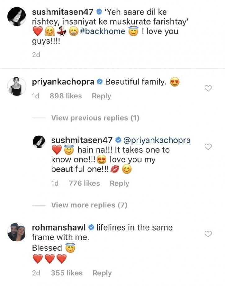 Sushmita Sen & Priyanka Chopra Show Love To Each Other On Instagram & It's An Epic BFF Moment