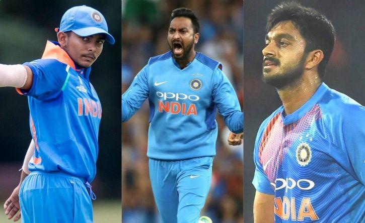 Team India has fresh blood