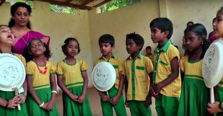Tribal school, Wayanad district, Kerala, heavy bags, marginalized communities, SALPS