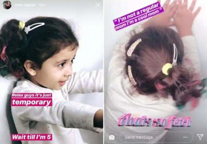 Trolled For Daughter Misha's Hair Colour, Mira Rajput Says Don't Get Serious About Everything