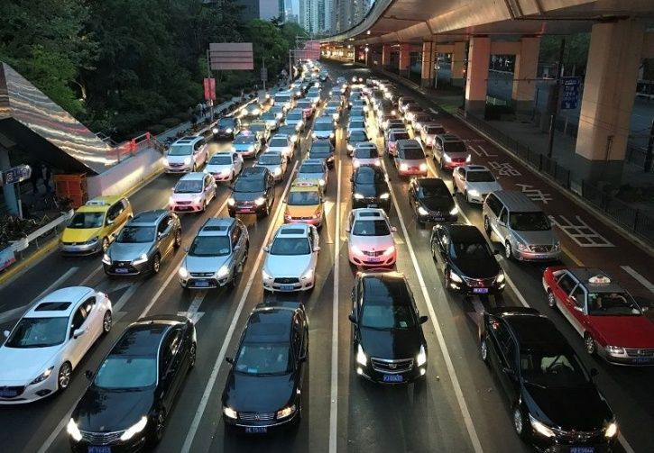 Vehicle OTA Update, Man Stuck In Jam, China Traffic Jam, Beijing News, Vehicle Technology, Traffic J