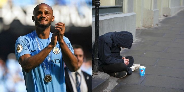 Vincent Kompany is known as a nice guy. On the field, he is competitive, but nobody would call him d