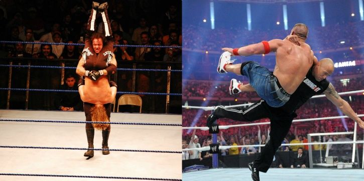 WWE had some great finishing moves