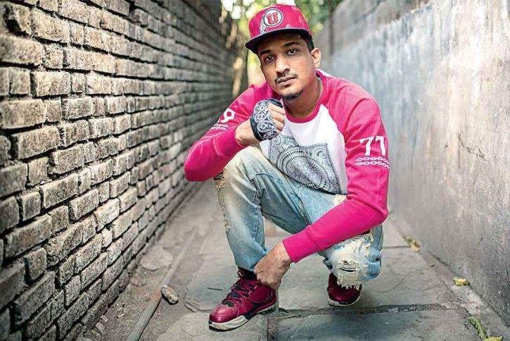 A picture of rapper divine.