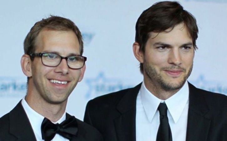 Actor Ashton Kutcher and Twin Brother michael kutcher