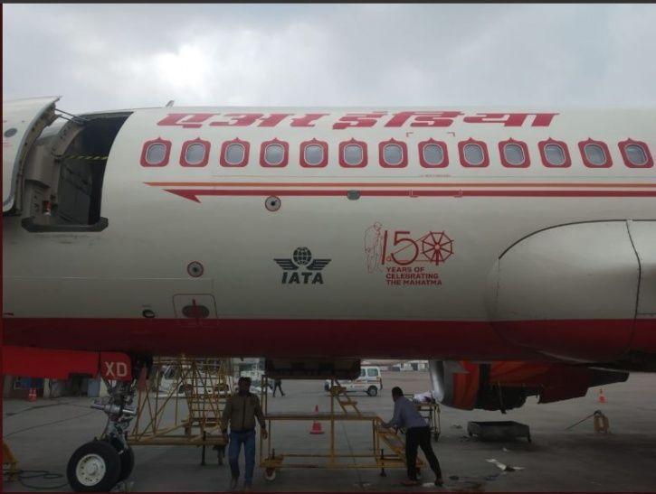 Air India, Mahatma Gandhi, logo, 150th birth anniversary, aircraft, Airbus A319 and A320