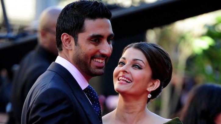 Aishwarya Rai Bachchan and Abhishek Bachchan and that look of love.