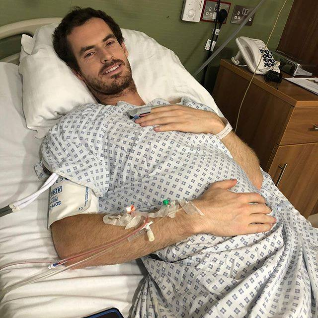 Andy Murray is recovering